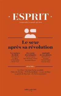 Esprit. n° 436, Le sexe après sa révolution