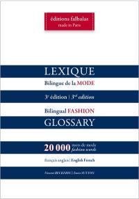 Lexique bilingue de la mode, français-anglais, anglais-français