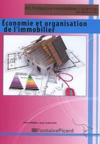 Economie et organisation de l'immobilier, BTS professions immobilières, licences, deuxième année