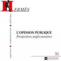 Hermès. n° 31, L'opinion publique