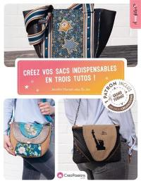 Créez vos sacs indispensables en trois tutos !