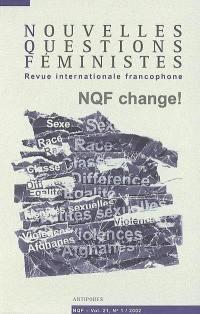 Nouvelles questions féministes. n° 1 (2002),