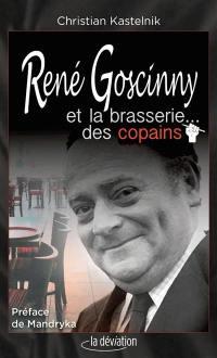 René Goscinny et la brasserie... des copains
