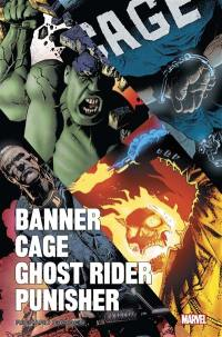 Banner, Cage, Ghost Rider, Punisher