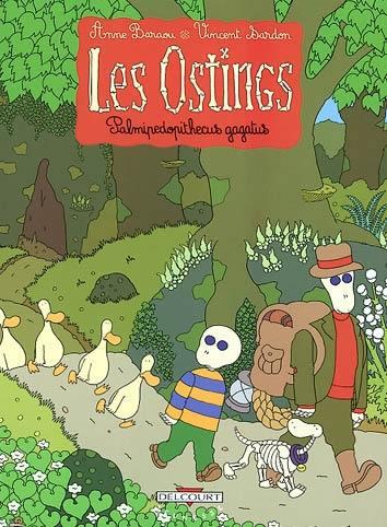 Les Ostings. Volume 2, Palmipedopithecus gagatus