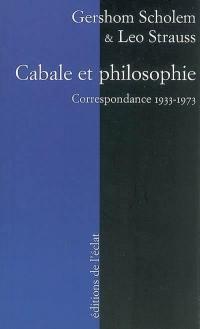 Cabale et philosophie