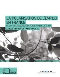 La polarisation de l'emploi en France (1994-2018)