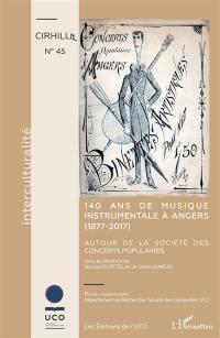 140 ans de musique instrumentale à Angers (1877-2017)