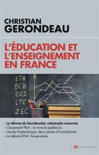 L'éducation et l'enseignement en France