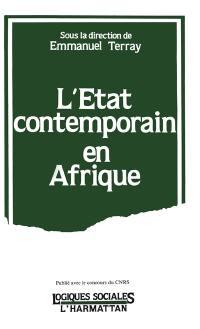 L'Etat contemporain en Afrique
