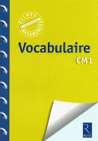 Vocabulaire CM1