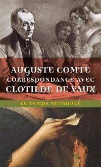 Correspondance avec Clotilde de Vaux