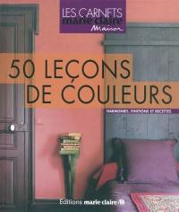 50 leçons de couleurs
