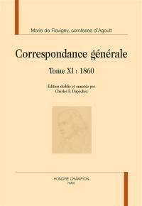 Correspondance générale. Volume 11, 1860