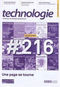 Technologie. n° 216, Dernier numéro