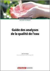 Guide des analyses de la qualité de l'eau