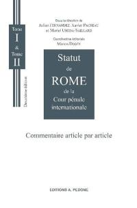 Statut de Rome de la Cour pénale internationale