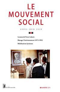 Mouvement social (Le). n° 271,