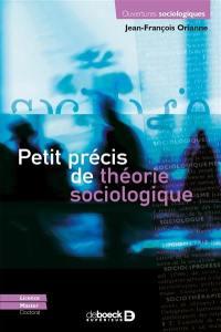 Petit précis de théorie sociologique