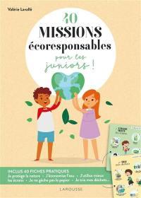 40 missions écoresponsables pour les juniors !