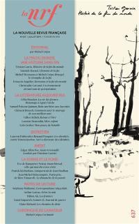Nouvelle revue française. n° 637,