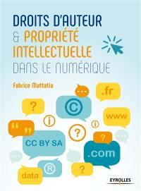 Droits d'auteur et propriété intellectuelle dans le numérique