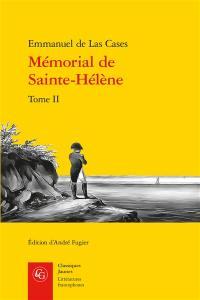 Mémorial de Sainte-Hélène. Volume 2,