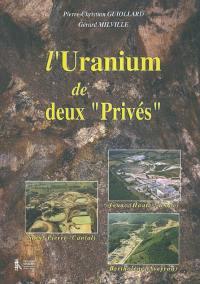 L'uranium de deux privés
