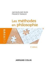 Les méthodes en philosophie