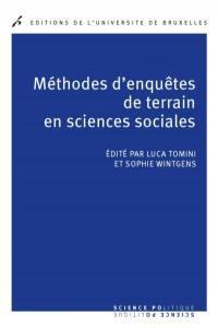 Méthodes d'enquêtes de terrain en sciences sociales