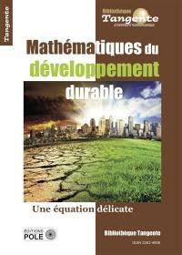 Mathématiques du développement durable