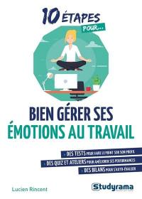 10 étapes pour bien gérer ses émotions au travail