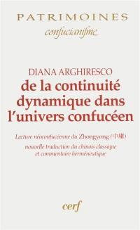 De la continuité dynamique dans l'univers confucéen