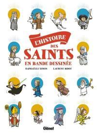 L'histoire des saints en bande dessinée