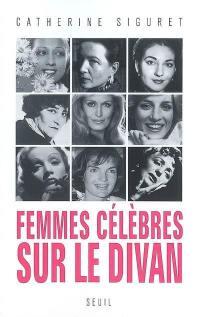 Femmes célèbres sur le divan