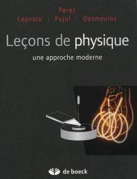 Leçons de physique