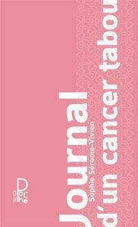 Journal d'un cancer tabou