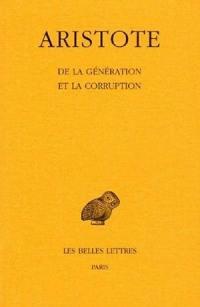 De la génération et de la corruption
