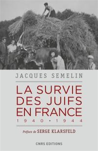 La survie des Juifs en France