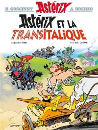 Astérix. Volume 37, Astérix et la Transitalique