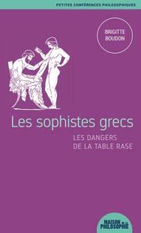 Les sophistes grecs