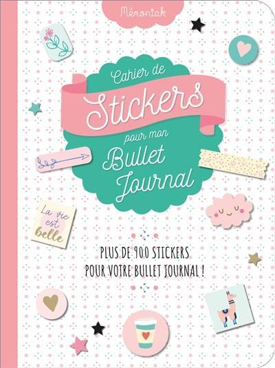 Cahier de stickers pour mon bullet journal