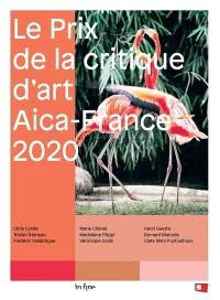 Le Prix de la critique d'art Aica-France 2020