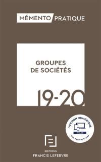 Groupes de sociétés