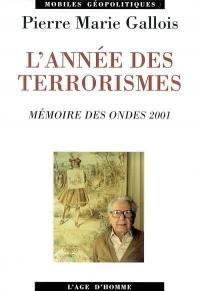 Année des terrorismes