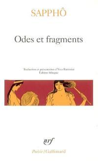 Odes et fragments