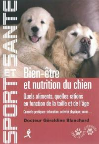 Bien-être et nutrition du chien