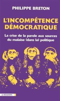 L'incompétence démocratique