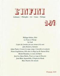 Infini (L'). n° 146,