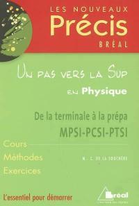 Un pas vers la Sup en physique